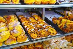 sött bageri Fotografering för Bildbyråer