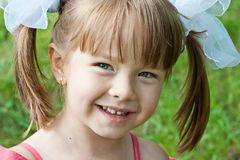 sött barn Royaltyfri Fotografi