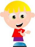 sött barn stock illustrationer