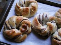 sött bröd royaltyfria foton