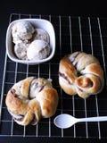 sött bröd arkivfoton
