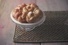 Sött bröd, kaka Royaltyfri Bild