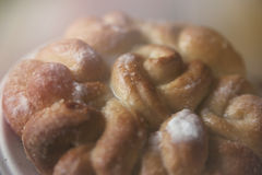Sött bröd, kaka Royaltyfri Fotografi