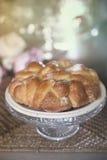 Sött bröd, kaka Fotografering för Bildbyråer