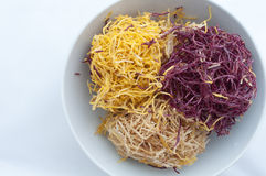Sött frasigt potatismellanmål Arkivbilder