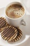 sött kaffe Arkivfoton