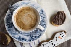 sött kaffe Royaltyfri Fotografi