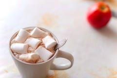 Sött marshmallow, slut upp Royaltyfri Foto