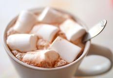 Sött marshmallow, slut upp Arkivbild