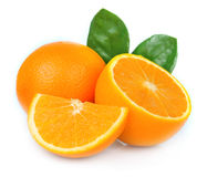 Sött orange frukt royaltyfri fotografi
