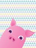 Sött Piggy Royaltyfri Foto
