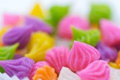 sött thai efterrätt Aalaw godis som göras från vetemjöl, kikärt Royaltyfri Foto