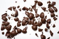 sött traditionella chokladeaster ägg Arkivfoto