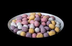 sött traditionella chokladeaster ägg Royaltyfria Foton