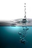 Sötvatten med bubblor Royaltyfri Foto