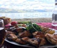 Sötvattens- WhitefishCoregonuslavaretus på sjön Sevan Royaltyfri Bild