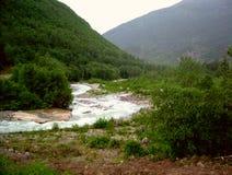 Sötvattenström Arkivbild
