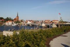 Sønderborg (Sonderburg) ø Stockbild
