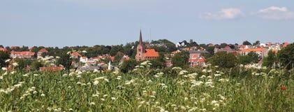 Sønderborg (Sonderburg) ø Stockfotografie