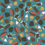 Süß-Material Set Stockfoto