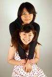 Süße asiatische chinesische Mädchen lizenzfreies stockfoto
