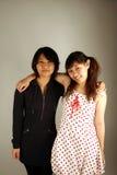 Süße asiatische chinesische Mädchen stockfotografie