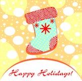 Süße Baby Weihnachtsillustration stock abbildung
