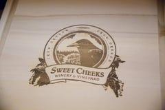 Süße Backen Weinkellerei und Weinberg lizenzfreie stockfotos