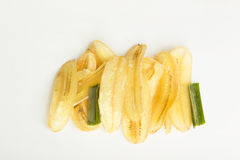 Süße Banane knusperig stockbild