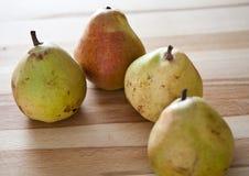 Süße Birnenfrucht stockbild