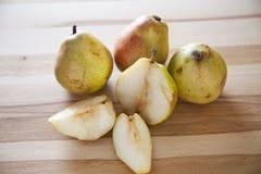 Süße Birnenfrucht stockbilder