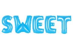 Süße, blaue Farbe Stockfoto