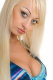Süße Blondine 2 stockbild