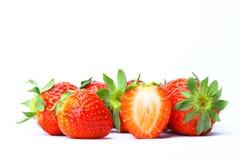 Süße Erdbeeren Stockbild