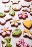 Süße Feiertagslebkuchen Lizenzfreie Stockfotografie