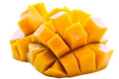 Süße frische saftige Mangofrucht stockfoto