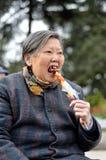 Süße Großmutter Stockbild