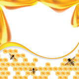 Süße Honigvektorillustration, Lizenzfreies Stockbild