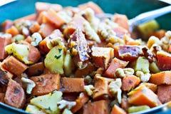 Süße Kartoffel-Durcheinander lizenzfreies stockbild