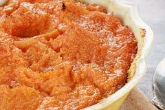 Süße Kartoffel-Kasserolle lizenzfreies stockbild