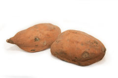 Süße Kartoffeln stockfotos