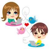 Süße Kindheit-Liebe Lizenzfreie Stockfotos