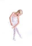 Süße kleine Ballerina Lizenzfreies Stockfoto