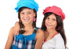 Süße kleine Schwestern Lizenzfreie Stockfotografie
