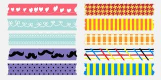 Süße maskingtape Sammlung Stockbild