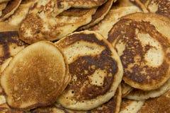 Süße Mehlgrießpfannkuchen pooray Lizenzfreies Stockfoto