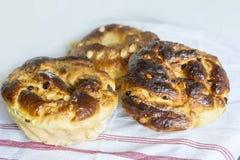 Süße Ostern-Brote Stockbild