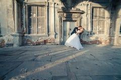 Süße Paar-Hochzeit Lizenzfreies Stockfoto