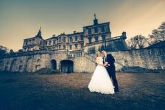 Süße Paar-Hochzeit Stockfotos