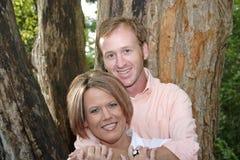 Süße Paare Stockfoto
